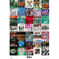 Poster Portadas Los Beatles