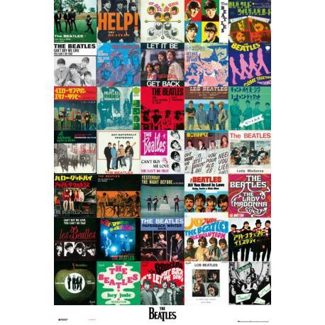 Poster de Música Portadas Los Beatles