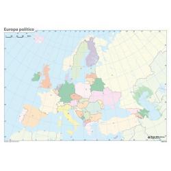 Pack mapas mudos Europa (5+5)