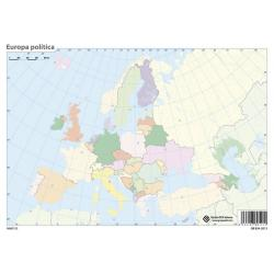 Pack mapas mudos Europa - en Portugues (5+5)