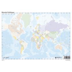 Pack mapas mudos Mundo en Frances (5+5)