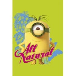 Poster Minions all natural
