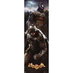 Poster puerta Batman Arkham