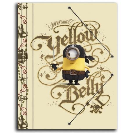 Carpeta gomas Minions piratas
