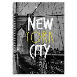 Cuaderno tapa dura A4 cities-Nueva York