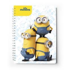 Cuaderno tapa dura A4 Minions film