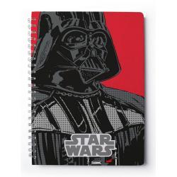 Cuaderno tapa dura A4 Star Wars