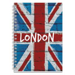Cuaderno tapa dura A5 London