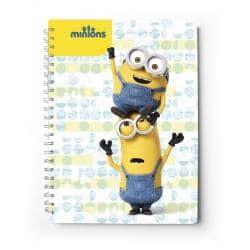 Cuaderno tapa dura A5 Minions film