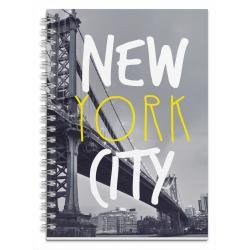 Cuaderno tapa dura A5 Nueva York