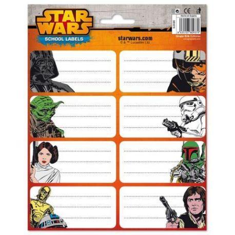 Etiquetas Star Wars