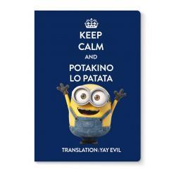 Libreta grapa A4 Minions potakino lo patata
