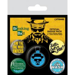 Pack de Chapas Breaking Bad (Heisenberg)