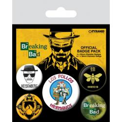 Pack de Chapas Breaking Bad (Pollos Hermanos)