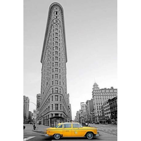 Poster Nueva York Taxi Amarillo