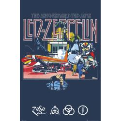 Poster Led Zeppelin Remains