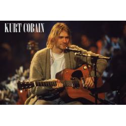 Poster Kurt Cobain Unplugged