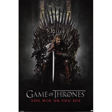 Poster Juego de Tronos Tu Ganas o Tu Mueres
