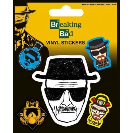 Pack de pegatinas Breaking Bad (Heisenberg)