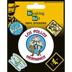 Pack de pegatinas Breaking Bad (Pollos hermanos)