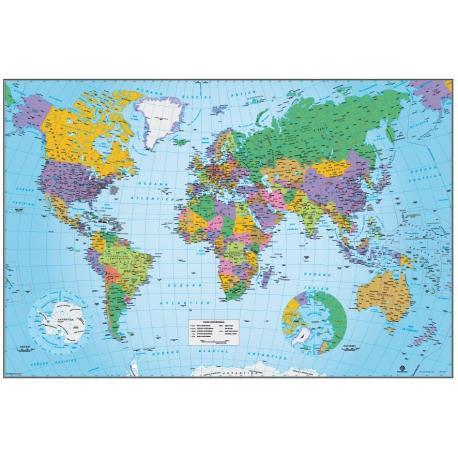 Poster Mapa Mundo