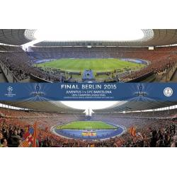 Poster F.C. Barcelona Champions Estadio