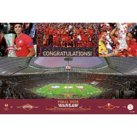 Poster Europe League Sevilla