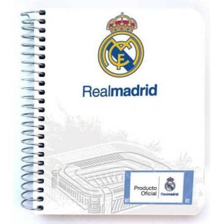 Mini notebook polipropileno Real Madrid 1