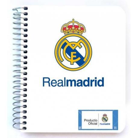 Mini notebook polipropileno Real Madrid 2