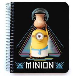 Mini notebook polipropileno Minions egipcios