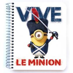 Mini notebook polipropileno Minions revolucion