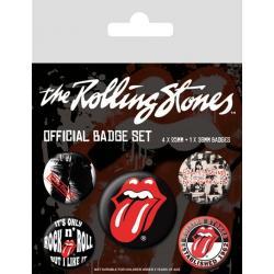 Pack de chapas Rolling Stones