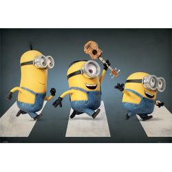 Poster Minions Abbey Road