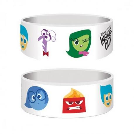 Pulsera Inside Out personajes