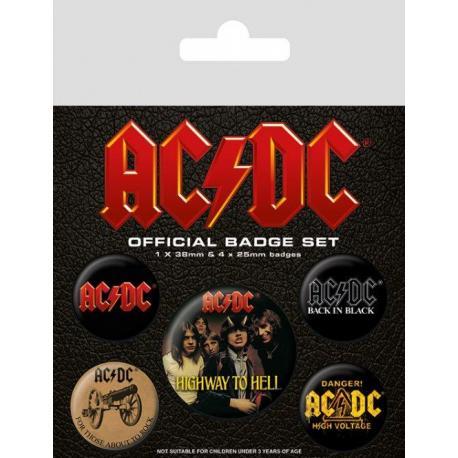 Pack de chapas AC/DC