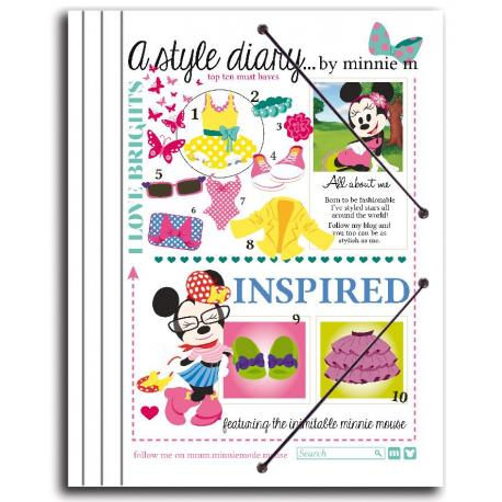Carpeta Clasificadora Minnie Blog