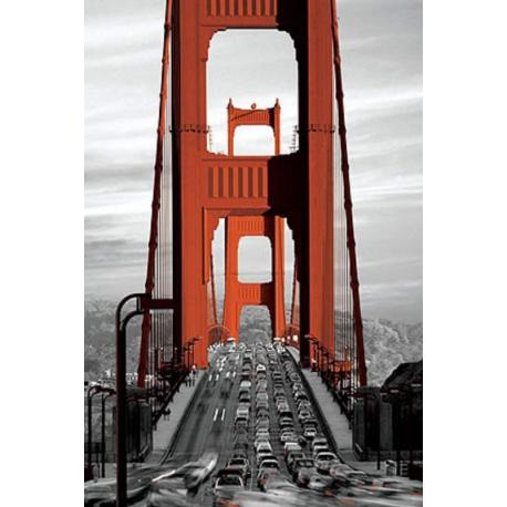 Poster Puente Golden Gate San Francisco