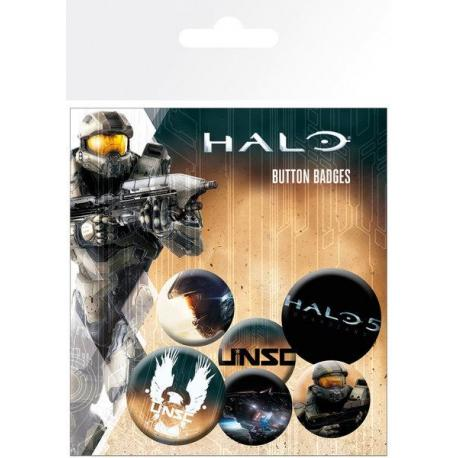 Pack de Chapas Halo 5