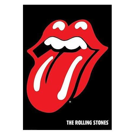Poster Rolling Stones Labios
