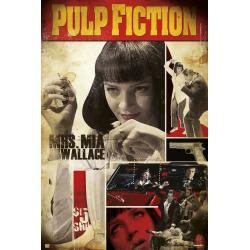 Poster pulp fiction mia