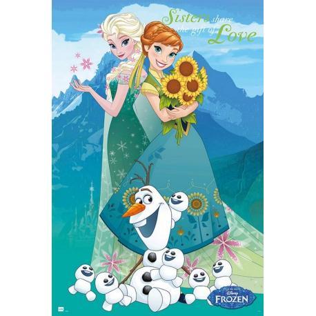 Poster Disney Frozen for ever
