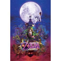 Poster Gamer la leyenda de Zelda
