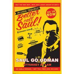 Poster Breaking Bad Better call Saul