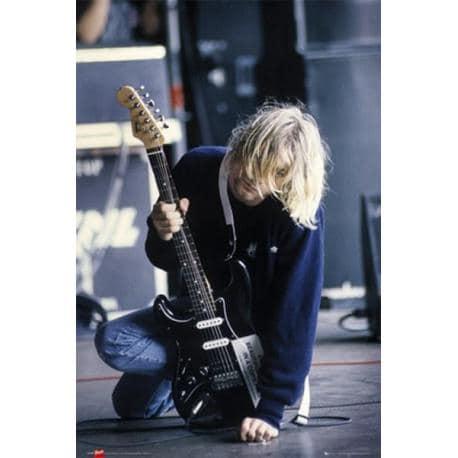 Poster Kurt Cobain Guitarra