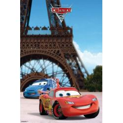 Poster Cars 2 Torre Eiffel