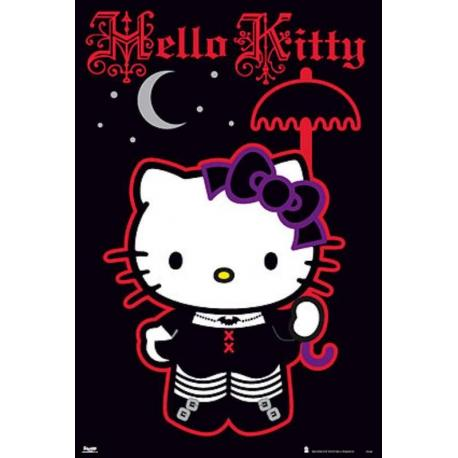 Poster Hello Kitty Gotica