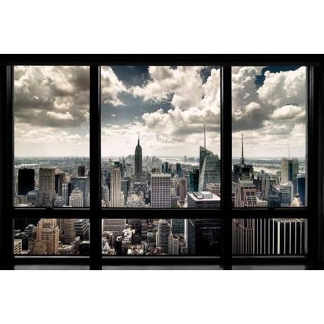 Poster Nueva York desde una Ventana