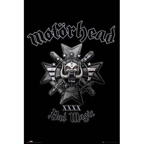 Poster Motorhead bad magic