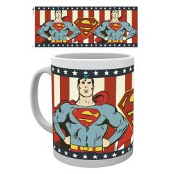 Taza Superman DC comics vintage