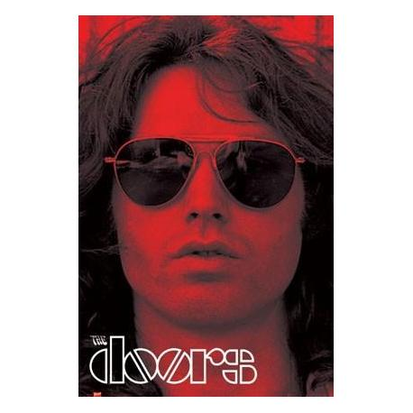 Poster The Doors Rojo